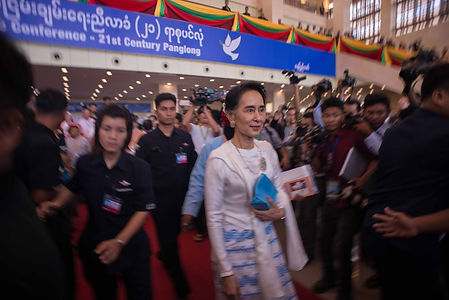 05. State counsellor Aung San Suu Kyi at