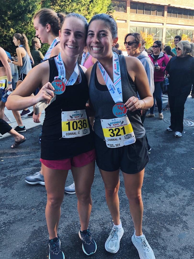 post-half-marathon
