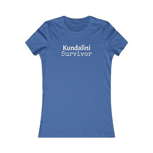 Kundalini Survivor Women's Slim and Curvy Tee