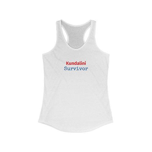 Kundalini Survivor Women's Racerback Tank Top
