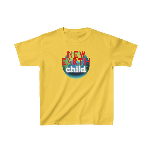New Earth Child Kids Heavy Cotton Tee Shirt