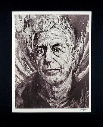 Anthony Bourdain Print / 앤토니 보딘 프린트
