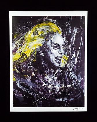 Lady Gaga Print / 레이디 가가 프린트