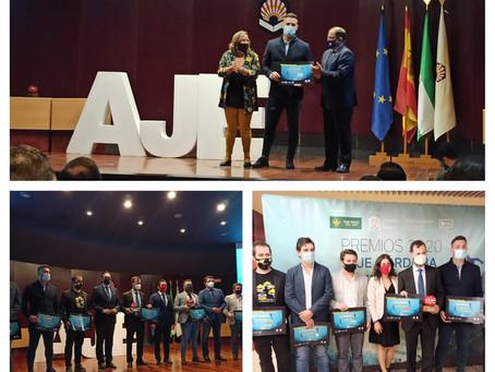 Premiados en los Premios AJE 2020. Emprendedores y empresarios del año.