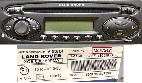 Visteon 6500 cd