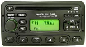 Ford RDS radio code