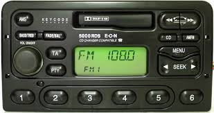 Ford RDS radio code.