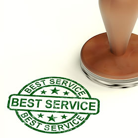 best-service-stamp-showing-top-customer-
