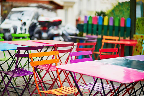 Colorful Tables