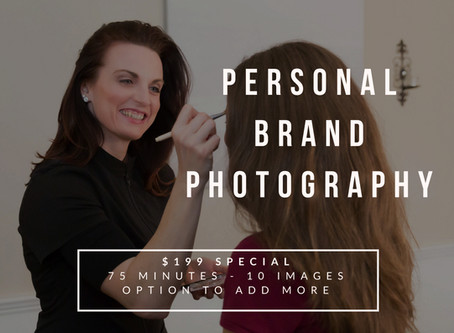 LIMITED TIME SPECIAL ON BRAND PHOTOGRAPHY