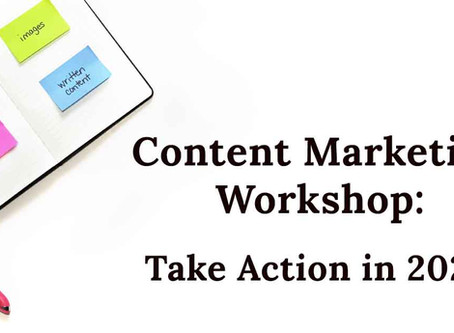 DIY Content Marketing Workshop