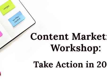 DIY Content Marketing Workshop