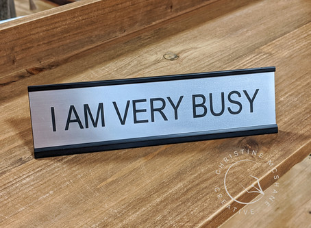 """Creating Content Even When You're """"Very Busy"""""""
