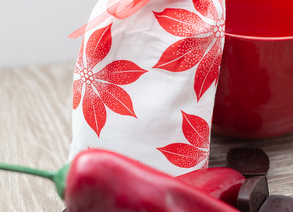 4 Serving Gift Bag Hot Cha-Cha Chocolate Spicy Hot Chocolate