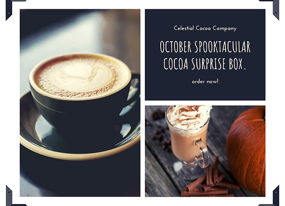 October Spooktacular Cocoa Surprise Box