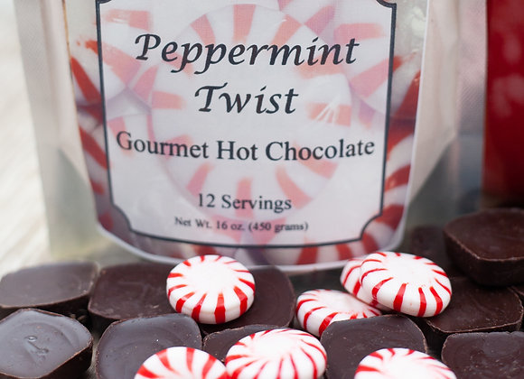 12 Serving Pouch Peppermint Twist