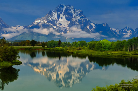 Refelection @Oxbow Bend