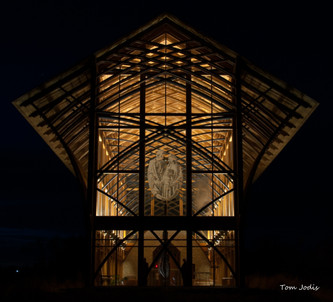 Holy Family Shrine @Night