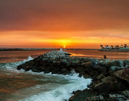 Redondo Beach @Sunset