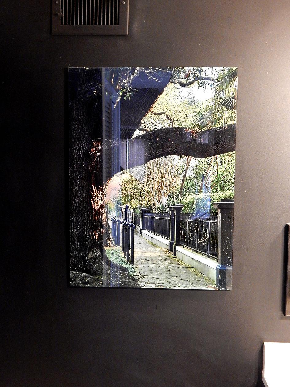Garden District on Glass
