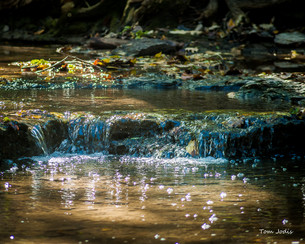 Small Waterfall @Platte River State Park