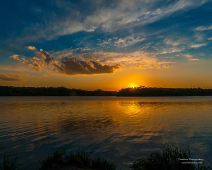 Glenn Cunningham Lake @Sunset