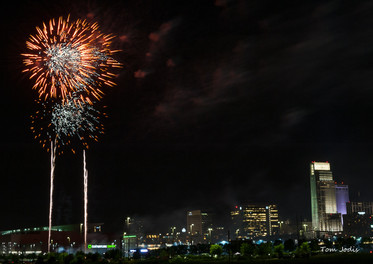 Fireworks on the 4th