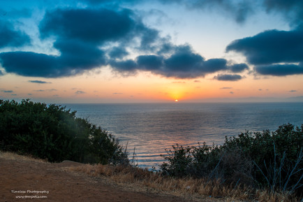Sunset at Bluff Cove