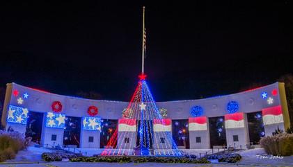 Memorial Park in Omaha, Nebraska @Christmas Time