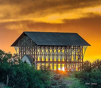 Holy Family Shrine @Sunset