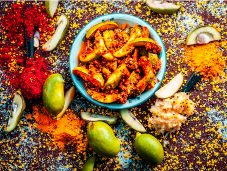 Mango Achar Served on White Tablecloth: South Asia's Fight to Revolutionize Fine Dining