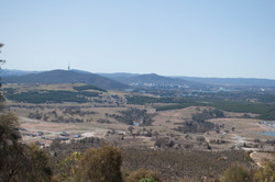 View from Mt Stromlo
