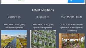 The first Nature4Cities database is online !