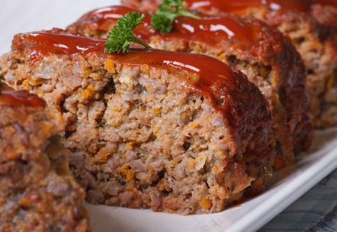 Carne molida al horno