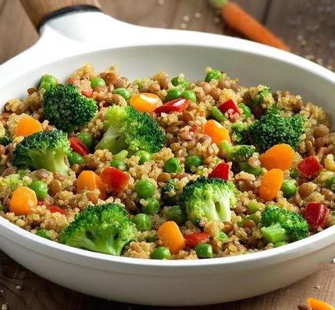 Yakimeshi de quinoa