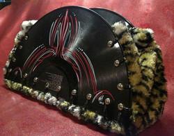 Handmade record purse