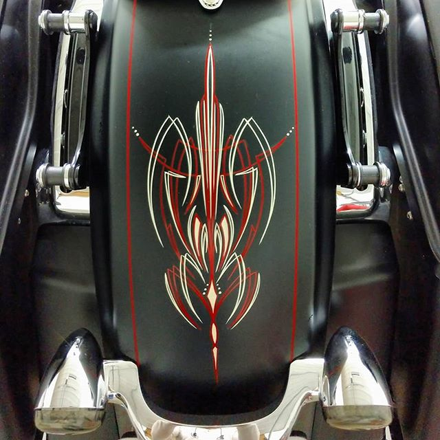 Got the rear fender done on the 2014 Str