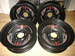 Crager deluxe wheels