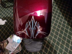 He also wanted a little piece on his street Glide to cover up some little rock chips .jpg