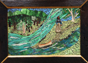 She Persists: Women in Power., by Debbie Jacknin of Mosaic Glass Creations