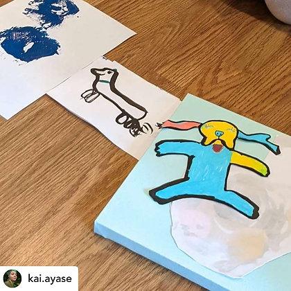 After School Art Class for Kids, 4 class bundle