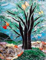 Tree of Life, by Debbie Jacknin of Mosaic Glass Creations
