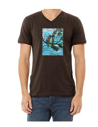Bird Adult Shirts, by Debbie of Mosaic Glass Creati