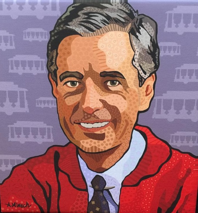 Mr. Rogers Inspired, by April Minech