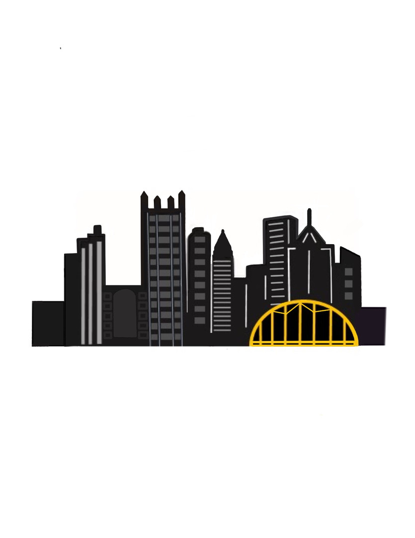 Pittsburgh Skyline, by Jenn Orefice