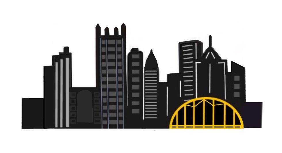 Pittsburgh Skyline, by Jennifer Orefice