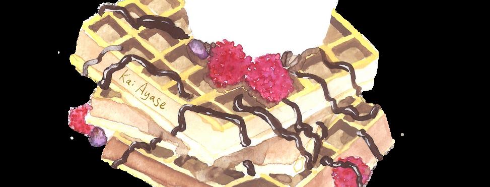 Waffle Vanilla