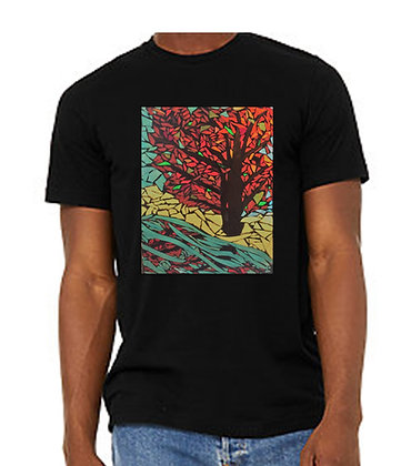 Tree of Life Adult Shirts, by Debbie of Mosaic Glass Creations