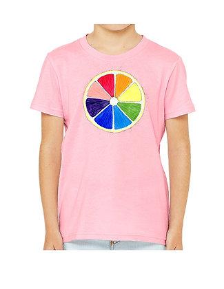Rainbow Lemon, Abby Pride, & Octopus Toddler & Child Shirts by Katya