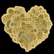 Gold mushroom heart transparent.png
